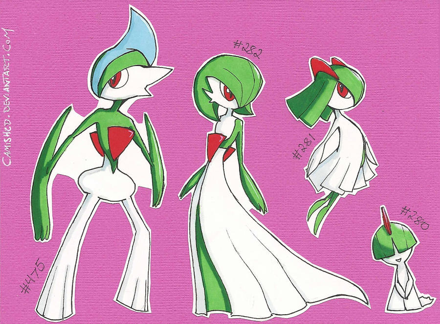 EvFam: Ralts by CamishCD on DeviantArt