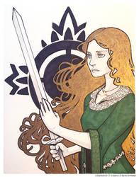 Eowyn by CamishCD