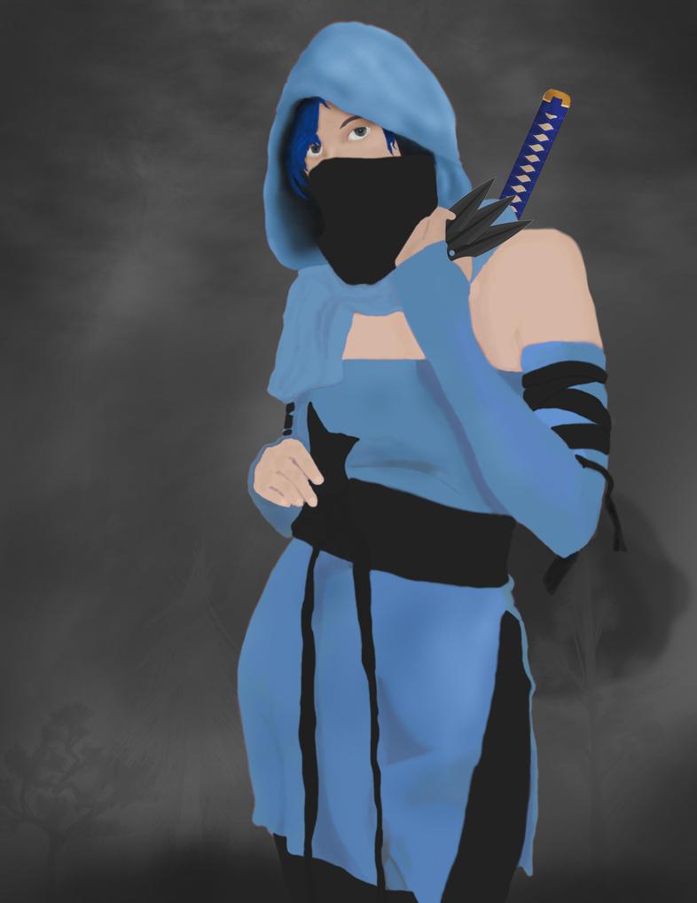 Sophia: Shadow Warrior of Wind by ZienithLaughs