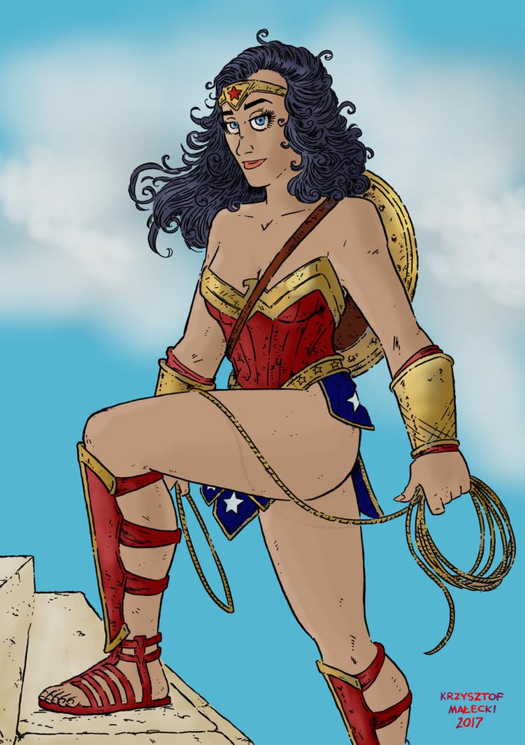 Wonder Woman by KrzysztofMalecki