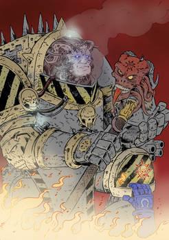 WH40K:Perturabo Daemon Prince of Chaos Undivided