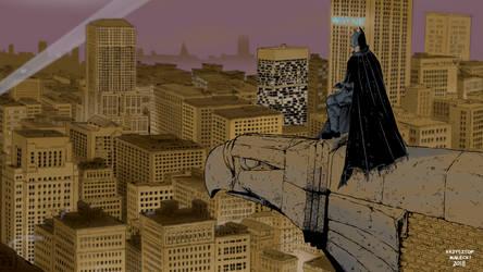 Gotham wallpaper by KrzysztofMalecki