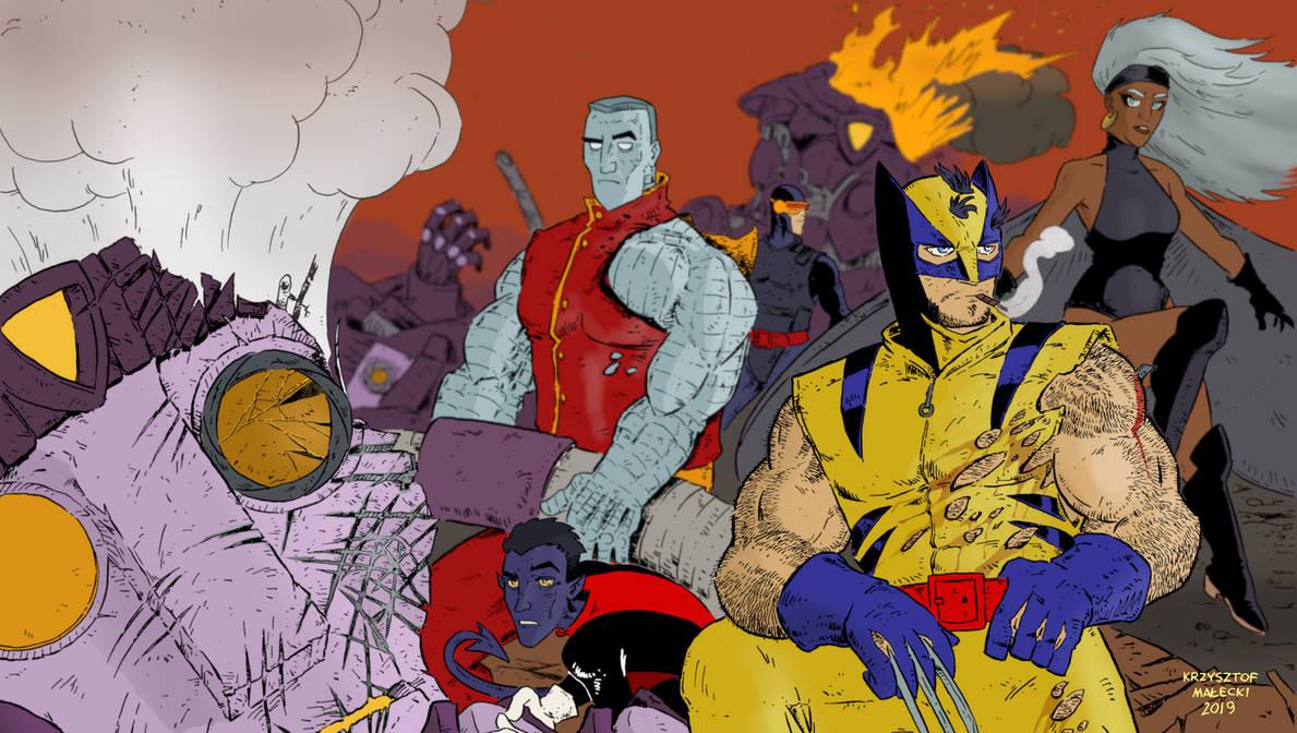 X-men 70s wallpaper by KrzysztofMalecki