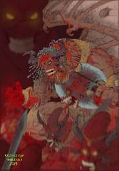 WH40K:Angron Daemon Prince of Khorne
