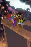 DWD - Cheesy Costume Kid by SkyPirateDash