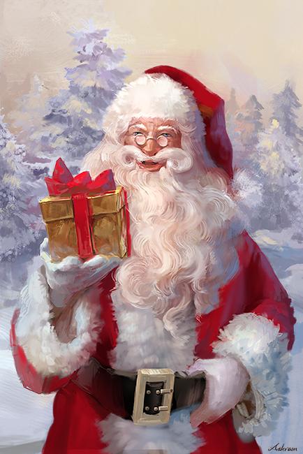 Santa Claus by Ashramart