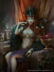 Persephone by Ashramart