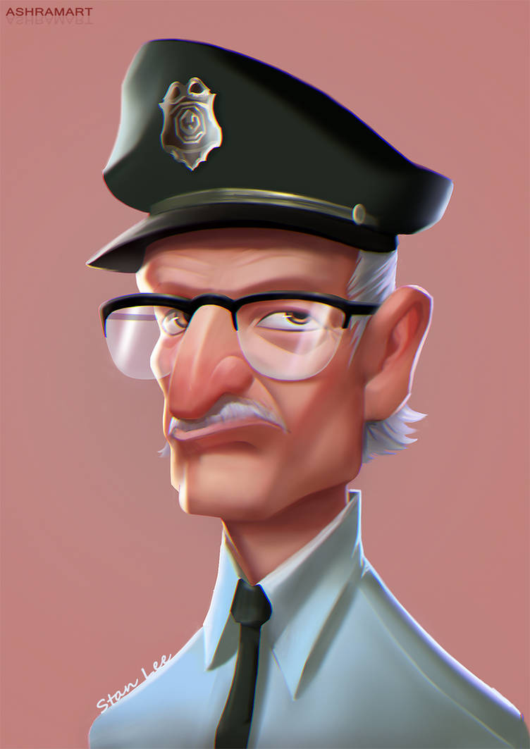 Stan Lee by Ashramart