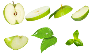 Apple Slice PNG