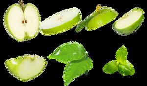 Apple Slice PNG