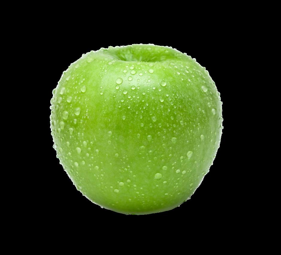 Green apple PNG by Jujoy1990