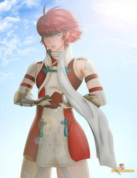 Fire Emblem Fates Hinoka commission