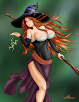 Dragon's Crown Sorceress redo by MKRUdesign