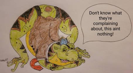 Ralphie Bullfrog (Jack O' Pose)