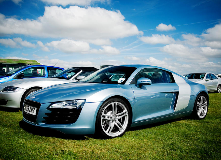 Blue - Audi R8 by TVRfan on DeviantArt