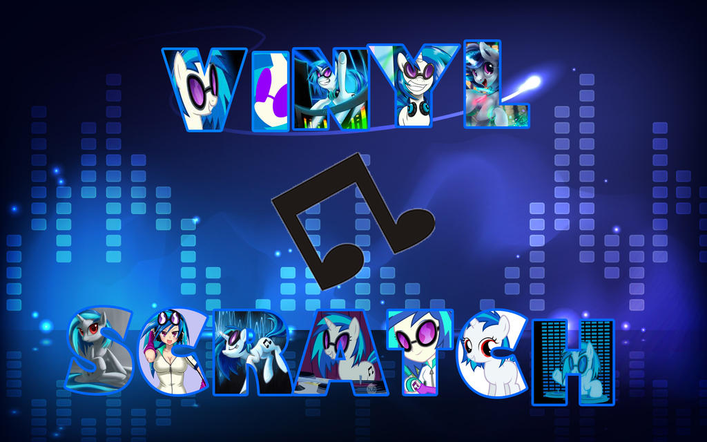 Mlp Wallpaper Vinyl Scratch Dj Pon 3 By Dachosta On Deviantart
