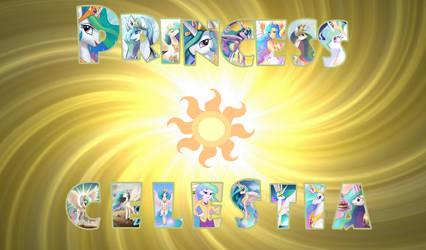 MLP Wallpaper-Princess Celestia by DaChosta
