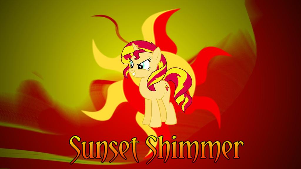 MLP Sunset Shimmer Wallpaper
