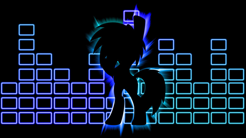 Mlp Vinyl Scratch Wallpaper 2 By Dachosta On Deviantart