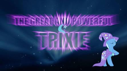 MLP Trixie Space Wallpaper by DaChosta