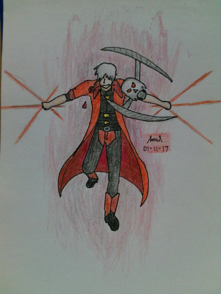 DMC4: Dante, Lucifer by Terumee