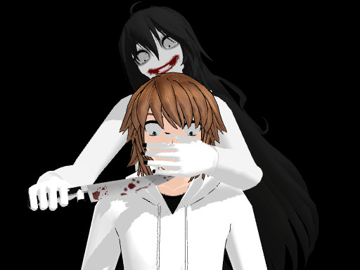 [MMD] Normal Jeff and Jeff the killer by smilecat98