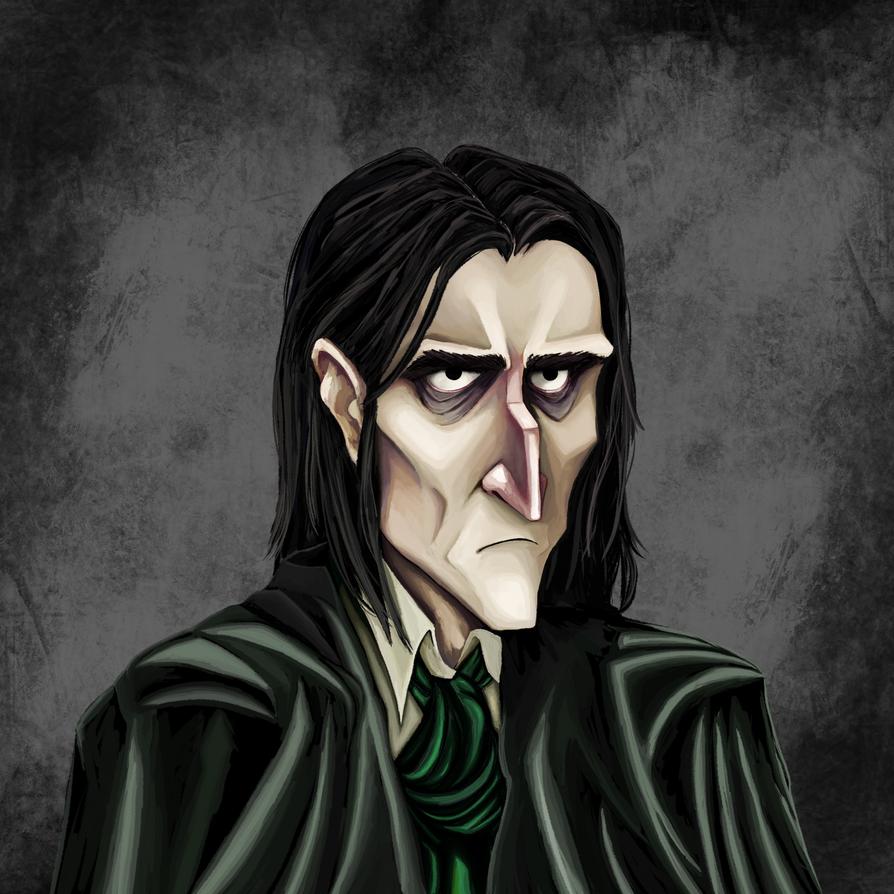 Severus Snape by Dimitriwix