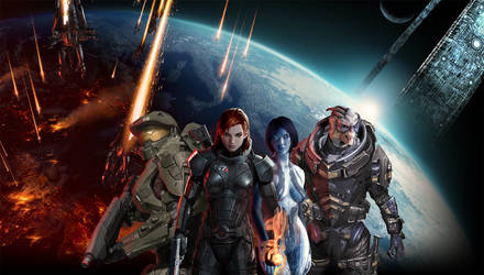 Mass Effect/Halo Mashup