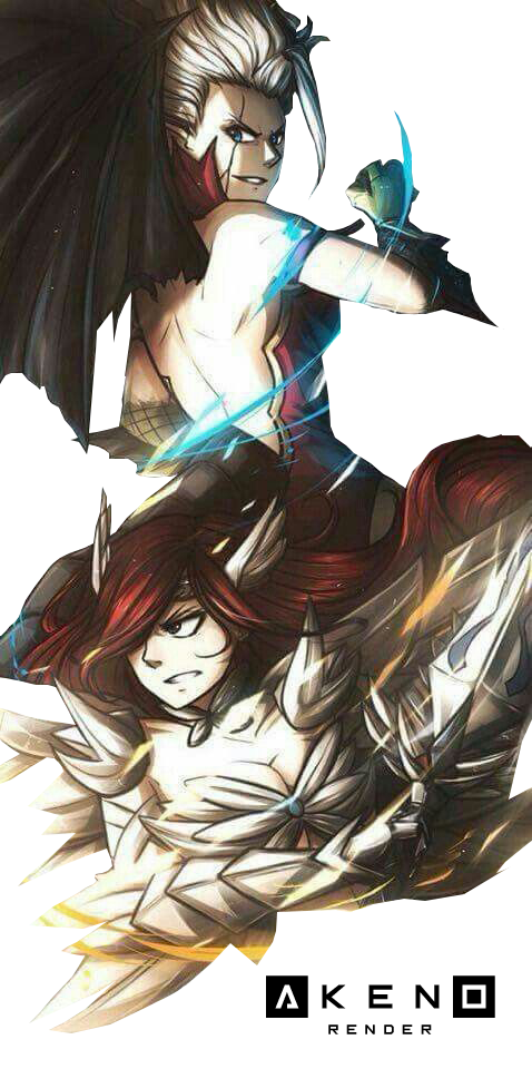 Erza Scarlet And Mirajane Demon Fairy Tail By R Akeno On Deviantart With tenor, maker of gif keyboard, add popular fairy tail mirajane animated gifs to your conversations. mirajane demon fairy tail by r akeno