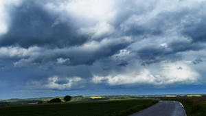 stock landscape  storm