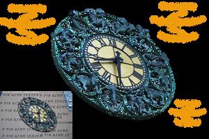 Horoscope clock by piaglud