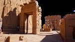 Aswan Philae Tempel Egybten