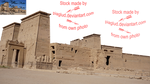 Philae temple by piaglud