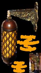 Egyptian lantern DSC06694 by piaglud