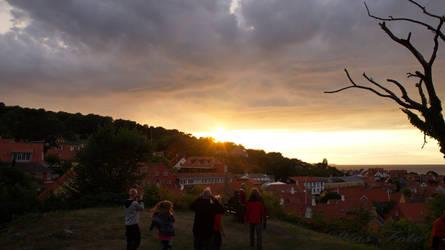 Sunset Bornholm by piaglud