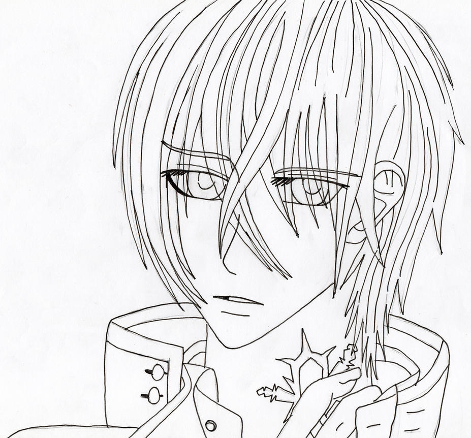 vampire knight zero coloring pages - photo#15