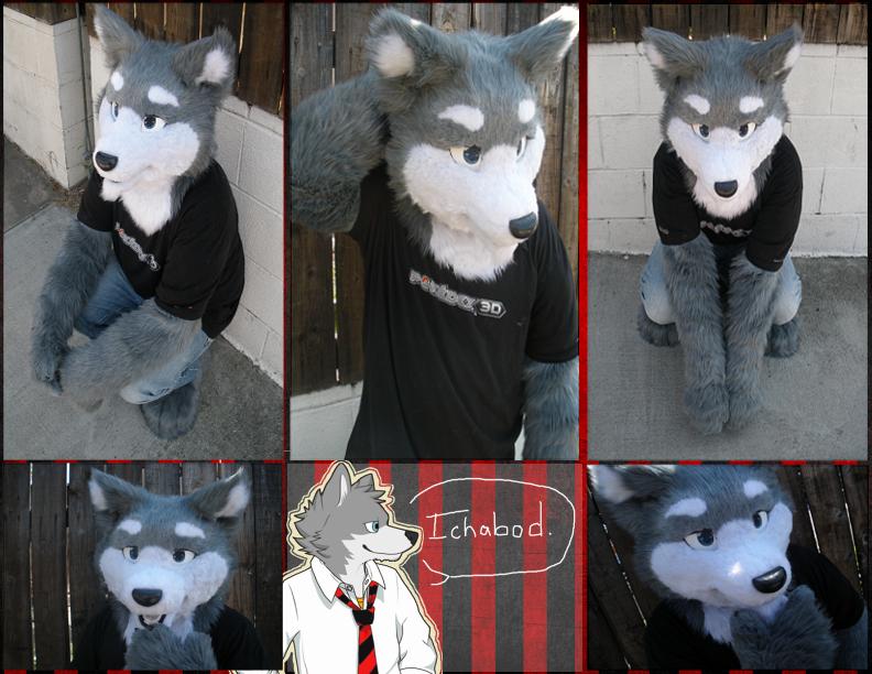 Ichabod the wolf by Phar0s
