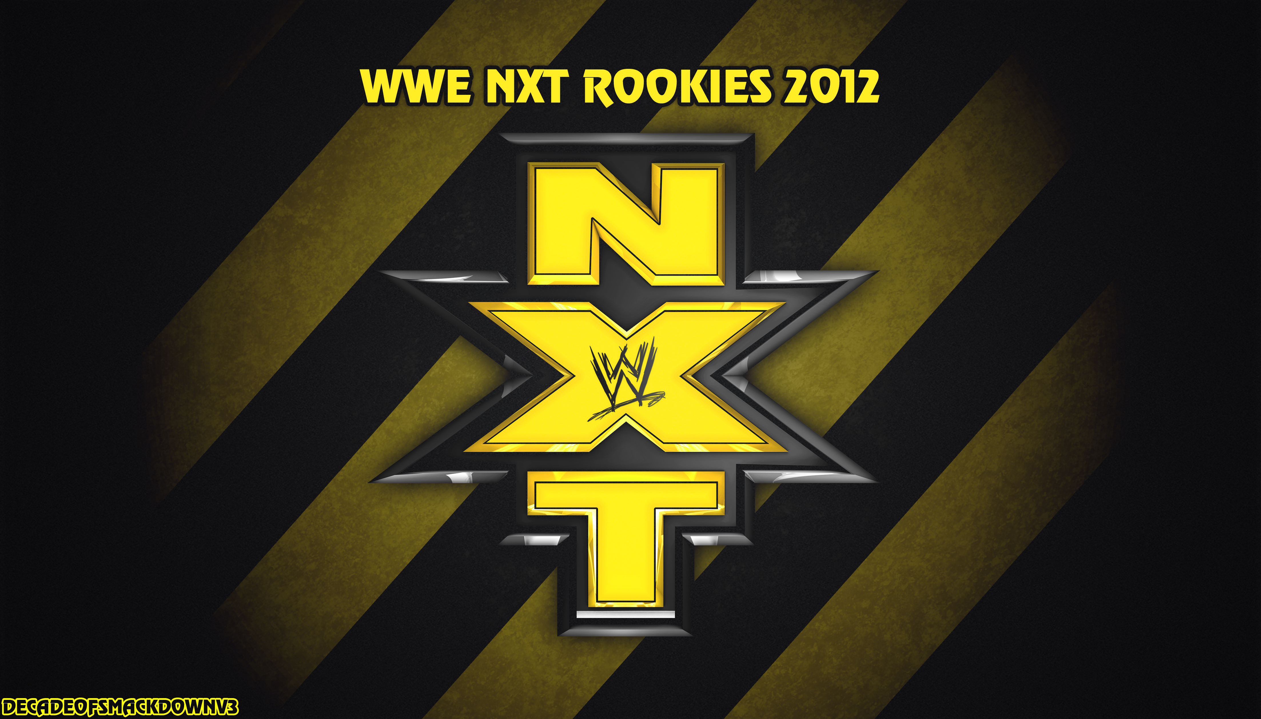WWE NXT 2012 By DecadeofSmackdownV3