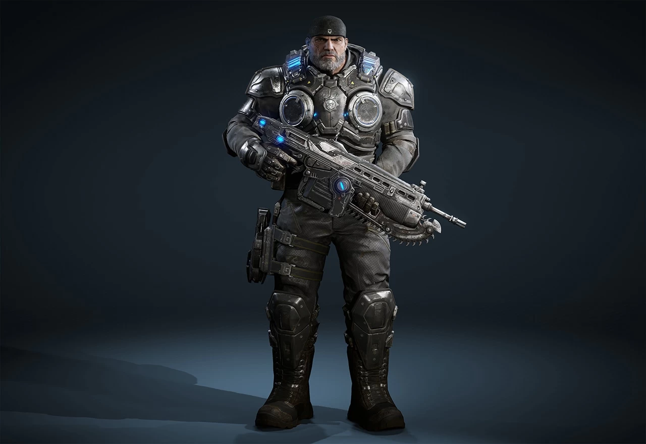 Gears of War 4: Marcus Fenix by DecadeofSmackdownV3
