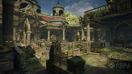 Gears of War 4: Relic / Multiplayer Map