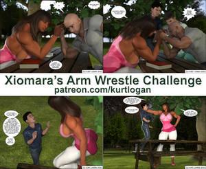 Xiomara Arm Wrestle Challenge - preview