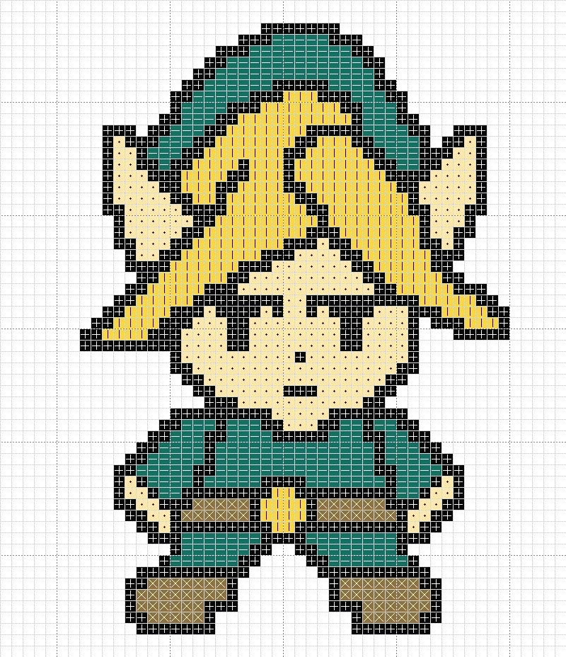 Link Cross Stitch by mjoygoddess