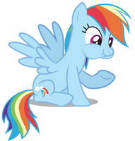 Chewing Rainbow by birthofthepheonix