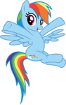 Rainbow Puts her Hooves Up
