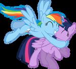 Rainbow Likes Alicorn Twilight