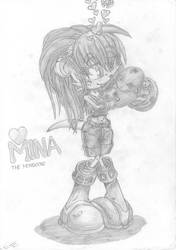 Mina the Mongoose by EUAN-THE-ECHIDHOG