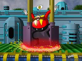 Sonic CD - Getting Hot Feet by EUAN-THE-ECHIDHOG