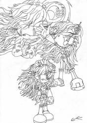 Mina Contest pic - plain by EUAN-THE-ECHIDHOG