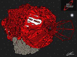 Red Dwarf by EUAN-THE-ECHIDHOG