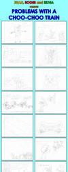 Problems with a choo choo train comic by EUAN-THE-ECHIDHOG